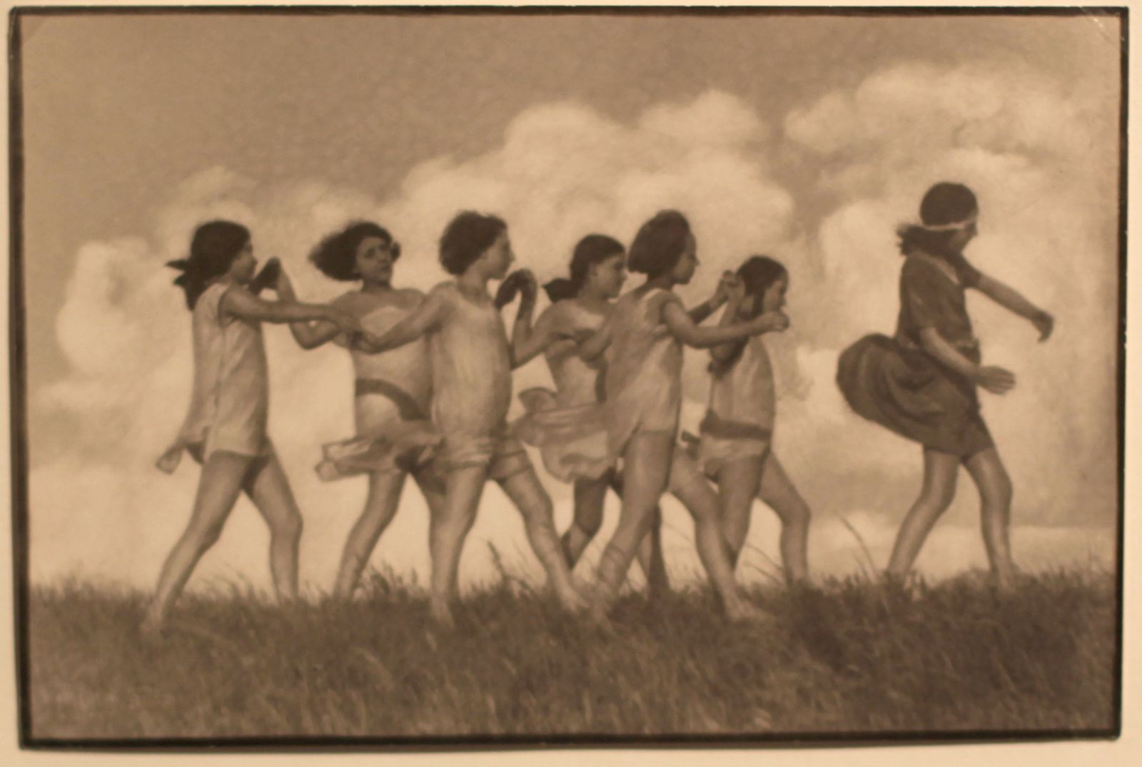 """Printemps"", 1913 de Rudolf Koppitz © Photo Éric Simon"