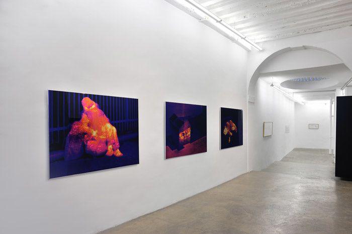 "Série ""Heat"", 2014 de ZEVS Courtesy Galerie Patricia Dorfmann © photo Rebecca Fanuele"