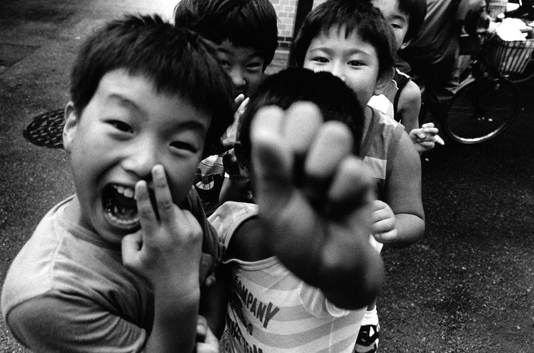 """""""Tokyo, Japon"""", 1987 de Wiliam Klein Courtesy Galerie Polka"""