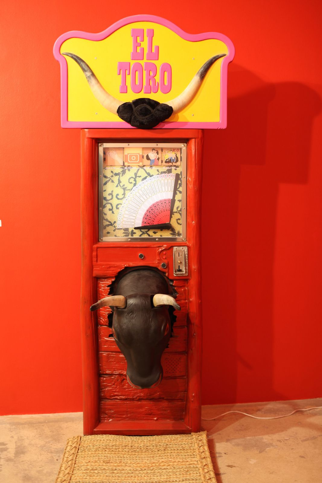 """El Toro"", 2015 de Pilar Albarracin Courtesy Galerie G.P. et N. Vallois © Photo Éric Simon"