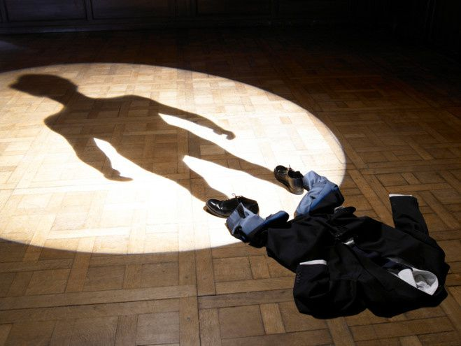 """""""L'ombre (de moi-même), 2007 de Philippe Ramette"""