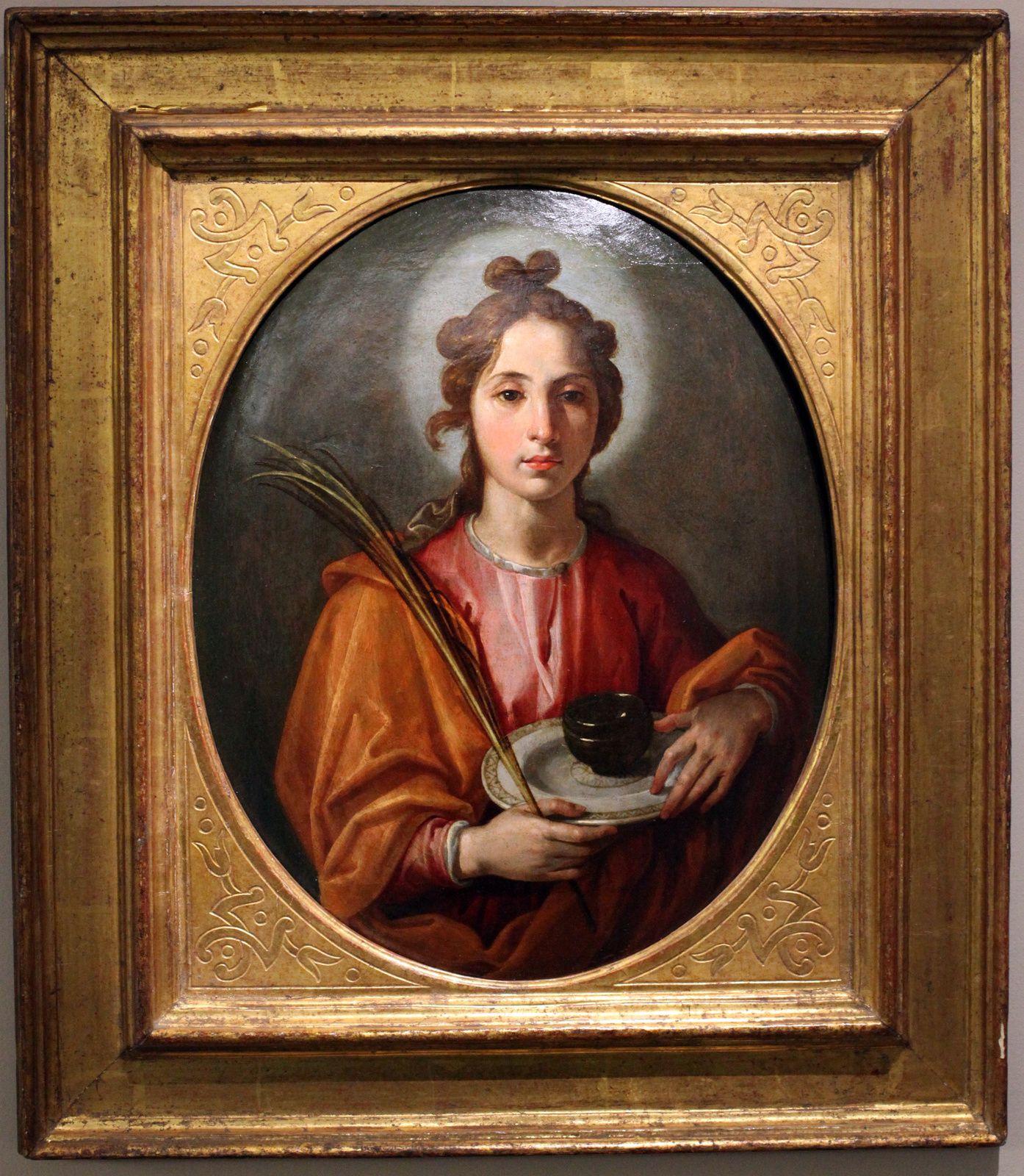 """""""Sainte Juste"""", 1616-1617 de Francesco Pacheco"""