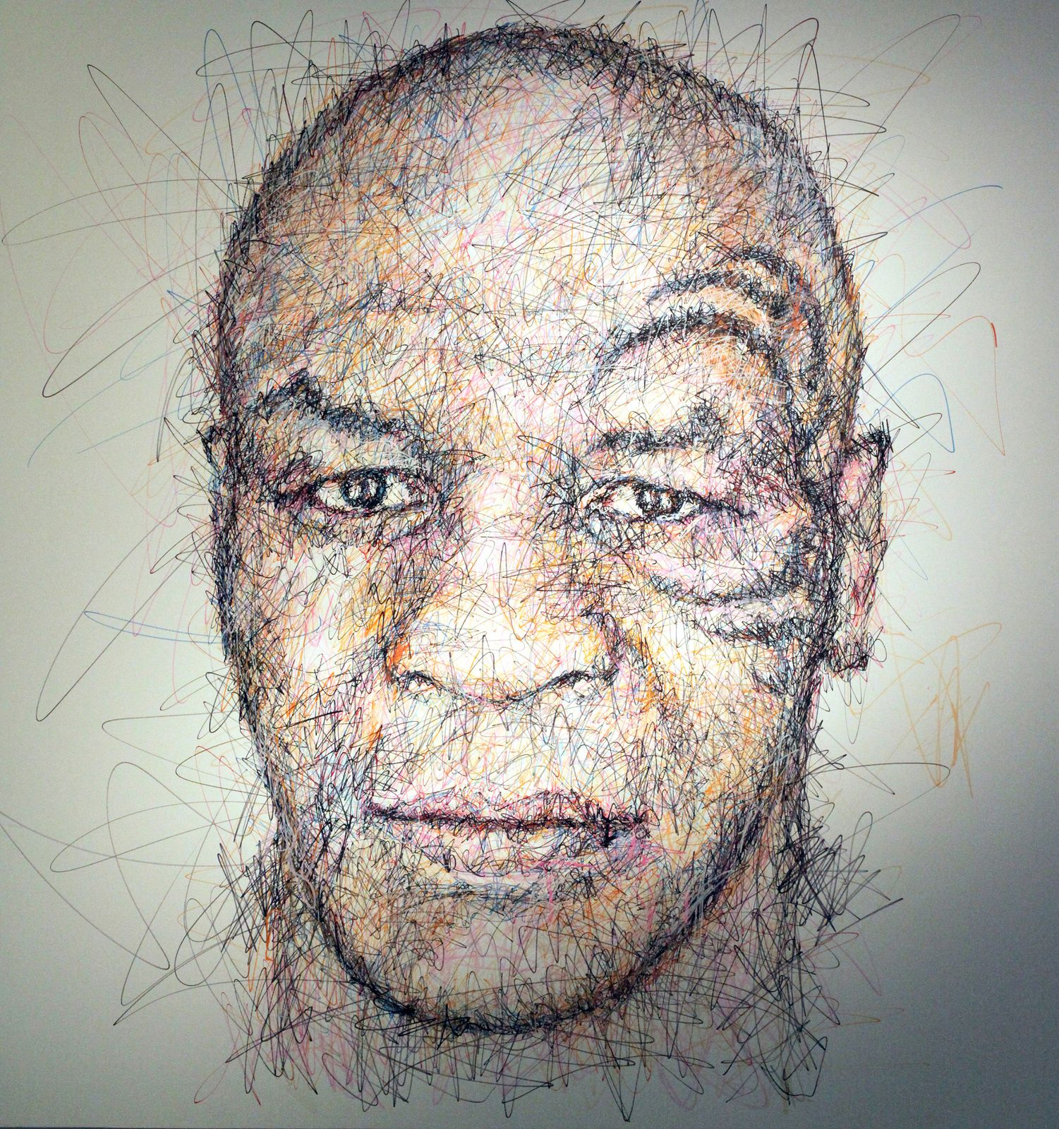 """Mike Tyson"", 2015 de Hom Nguyen Courtesy A2Z Art Gallery © Photo Éric Simon"