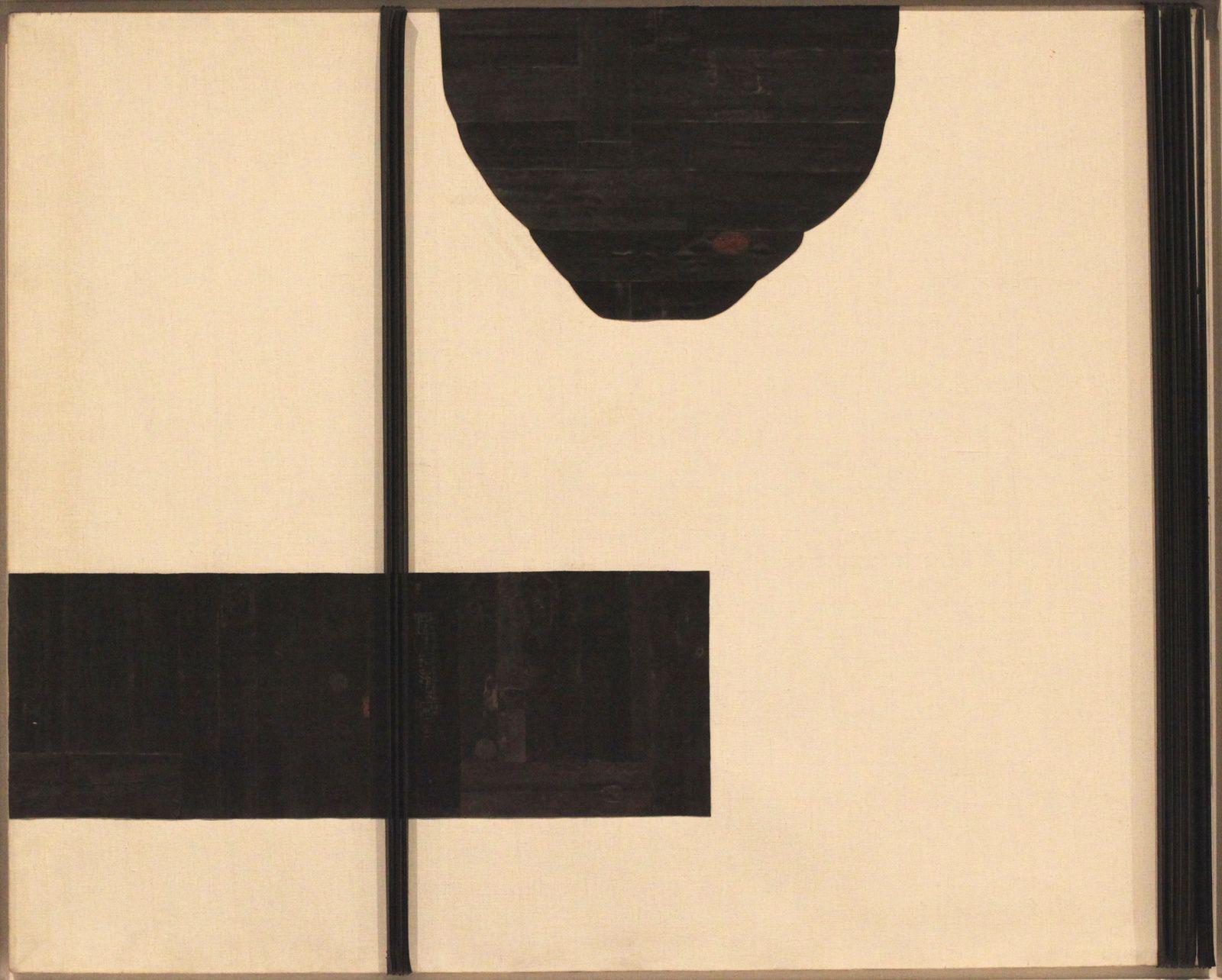 """""""De l'espace encore plus que du temps"""", 1971 de Carol Rama © Photo Éric Simon"""