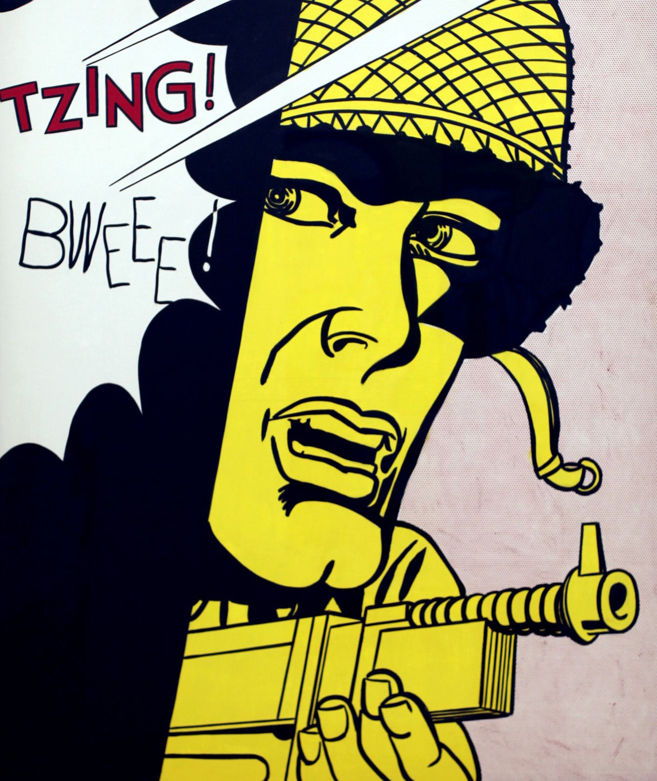 """Live Ammo (TZING!)"", 1962 de Roy Lichtenstein. The Doris et Donald Fischer Collection at the San Francisco Museum of Modern Art © Photo Éric Simon"