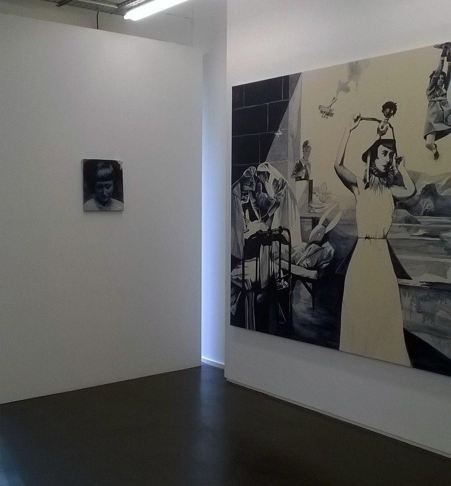 """Expo Peinture Contemporaine: Giulia Andreani """"Tout geste est renversement"""""""