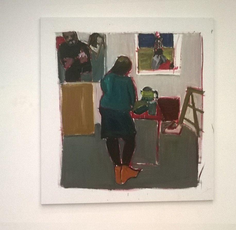 Expo Peinture Contemporaine: Damien Cabanes
