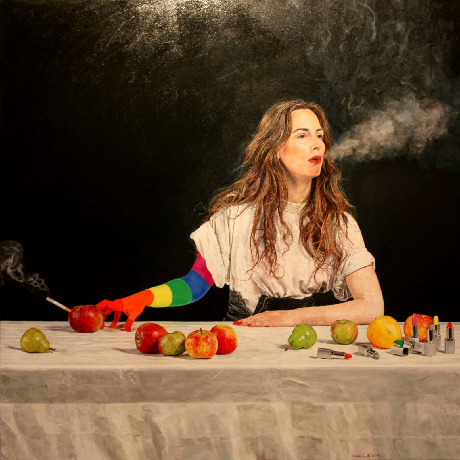 """Martin Zellerhoff, Arises"", 2013  d'Ulrich Lamsfuss  Courtesy Galerie Daniel Templon © Photo Éric Simon"