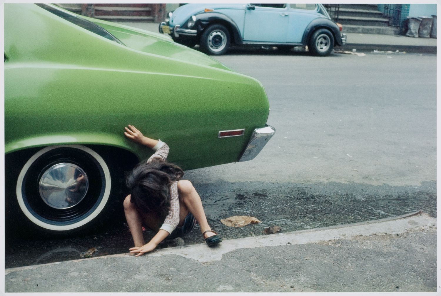"""New York"", 1980 de Helen Levitt - Courtesy Les douches La Galerie"