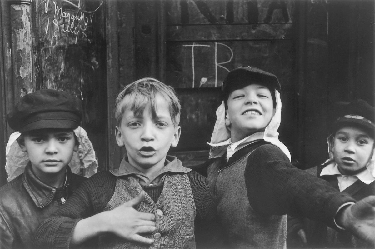 """New York"", 1942 de Helen Levitt - Courtesy Les douches La Galerie"