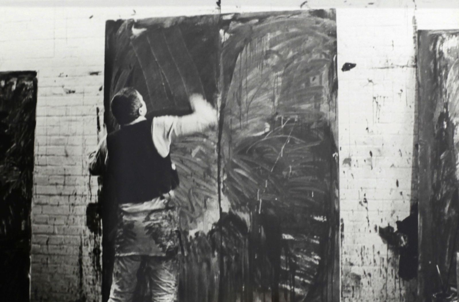 Atelier de Berlin 1977 Photo de Benjamin Katz