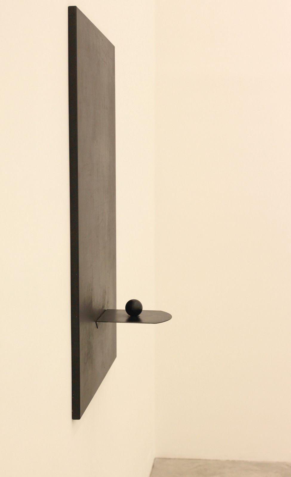 """""""Untitled"""" de Jannis Kounellis - Courtesy Almine Rech Gallery © Photo Éric Simon"""