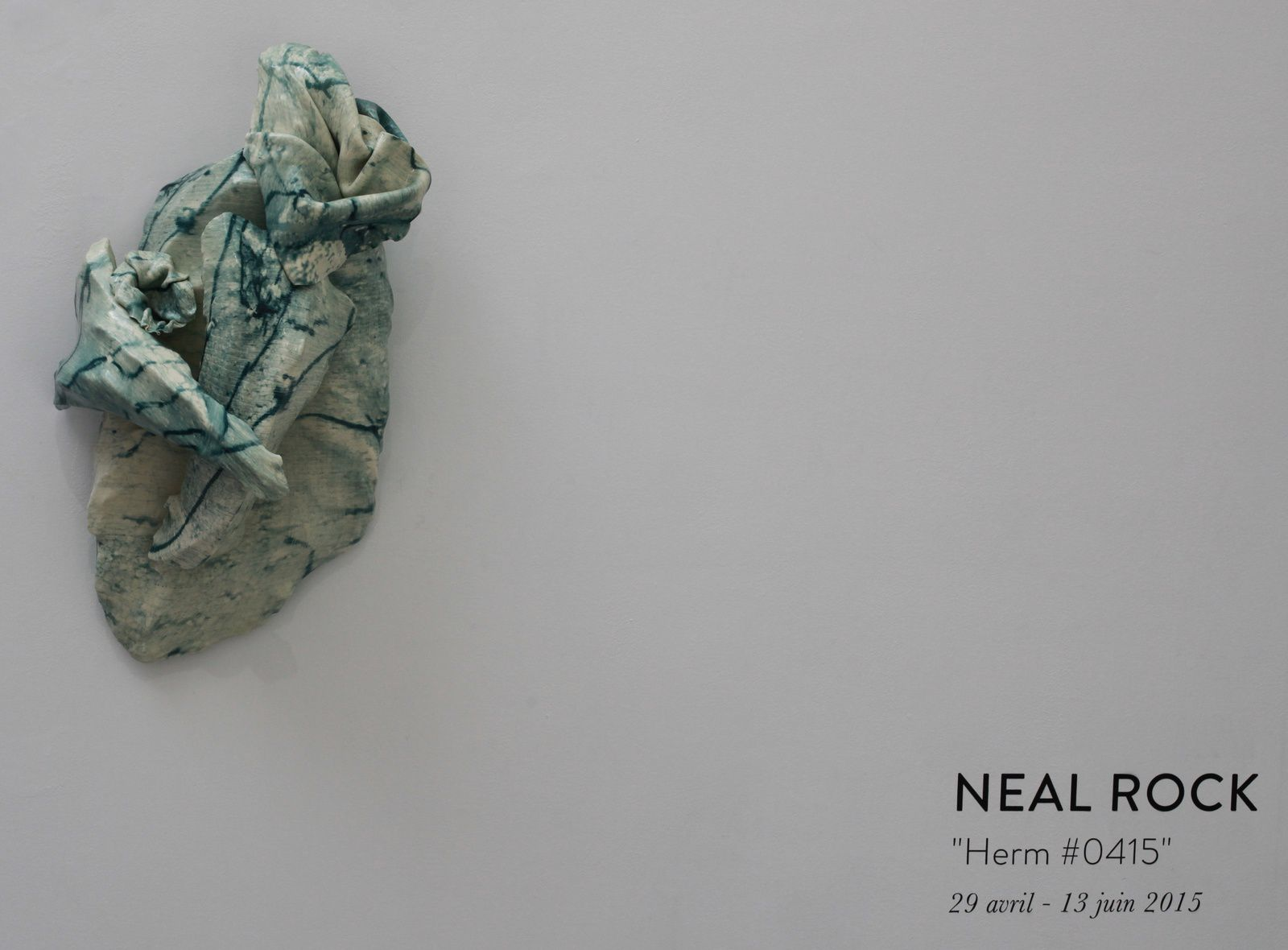 Expo Solo Show: Neal Rock &quot&#x3B;Herm #0415&quot&#x3B;