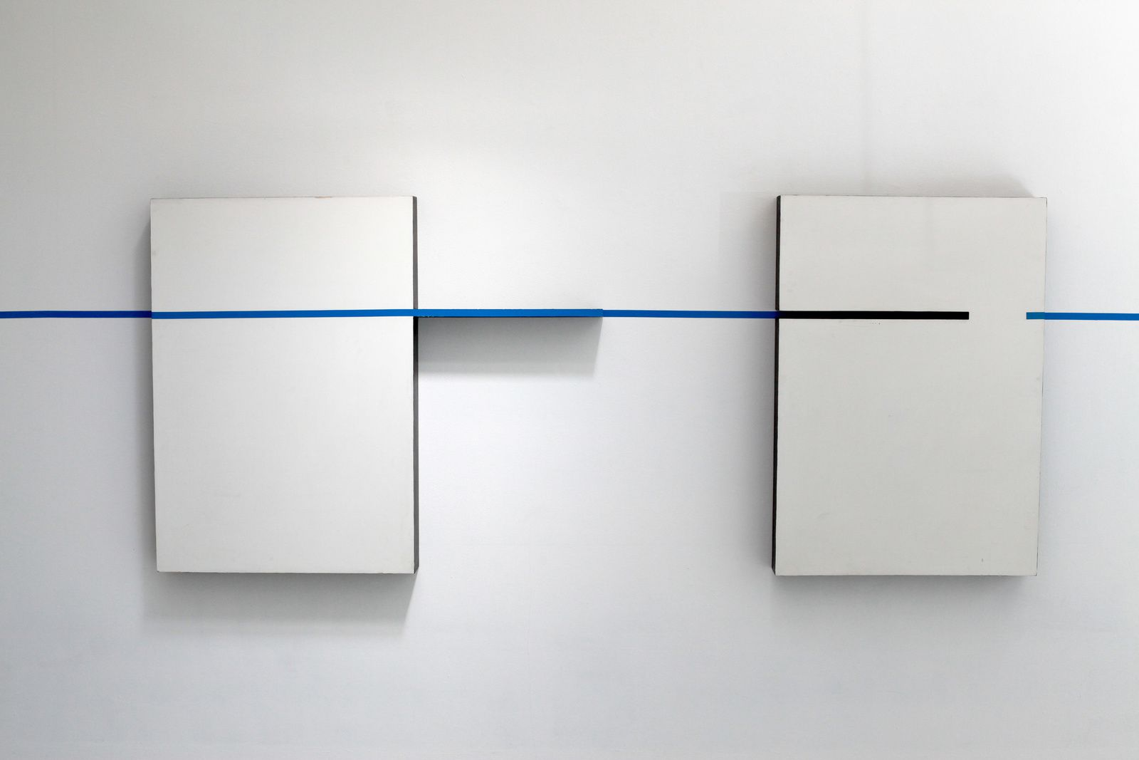 """Intervention"", 1994 de Edward Krasinski - Courtesy Galerie Loevenbruck © Photo Éric Simon"