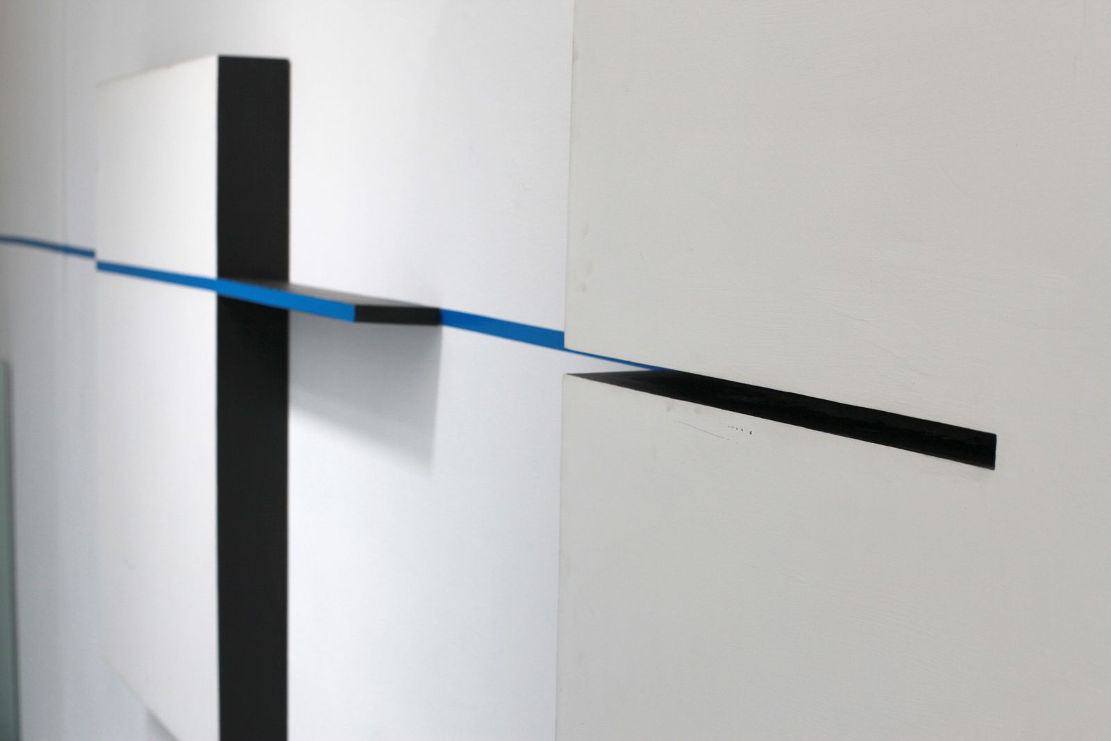 "Détail ""Intervention"", 1994 de Edward Krasinski - Courtesy Galerie Loevenbruck © Photo Éric Simon"