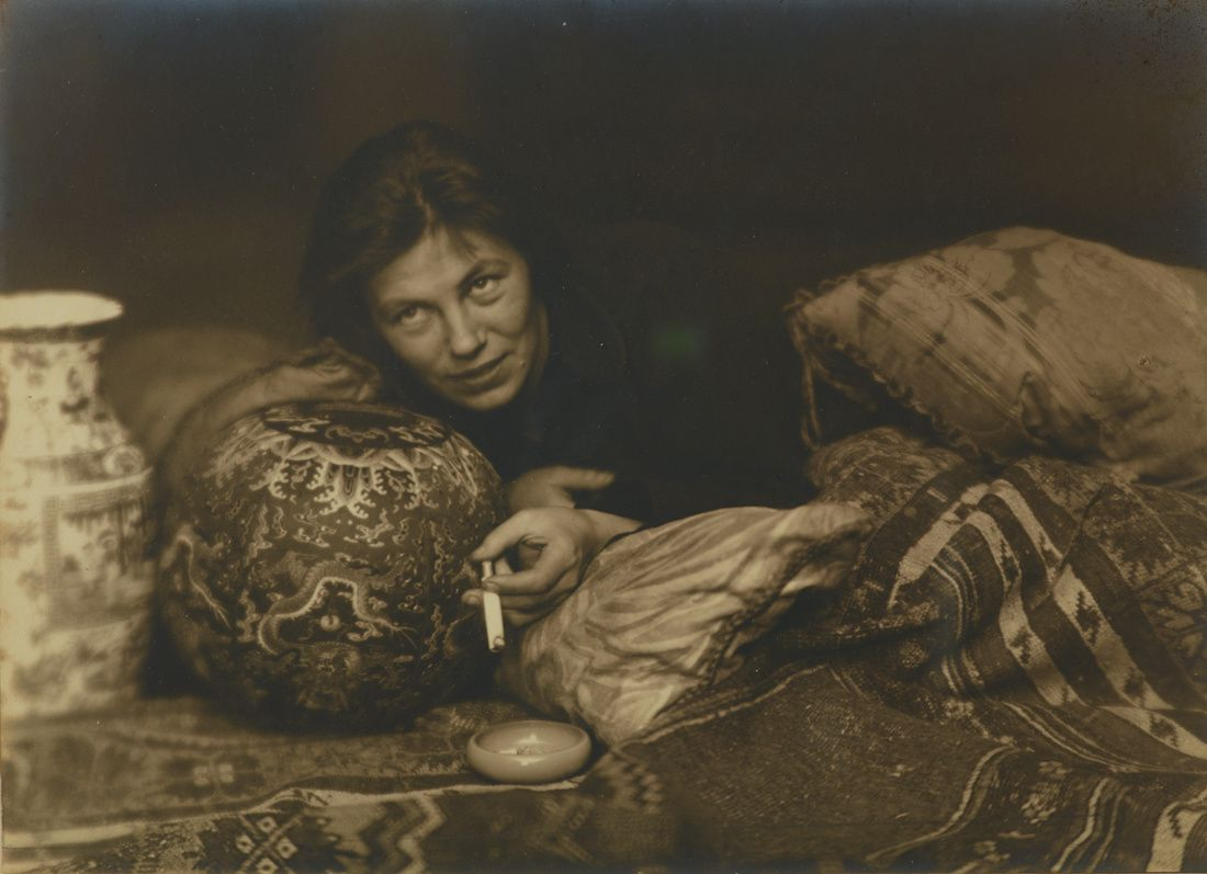 """Portrait de Germaine Krull, Berlin"", 1922 de Germaine Krull"