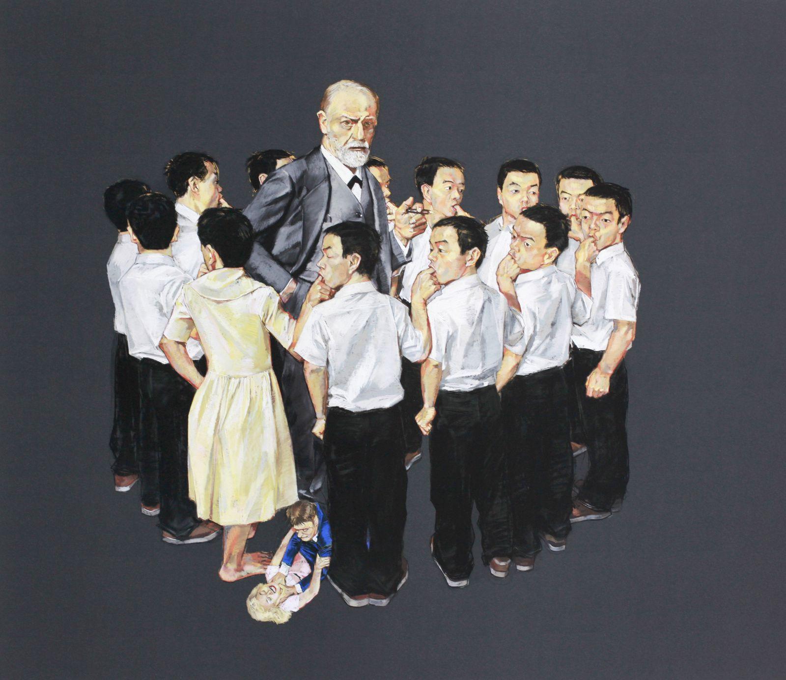 Wang Haiyang - Courtesy Galerie Paris-Beijing © Photo Éric Simon