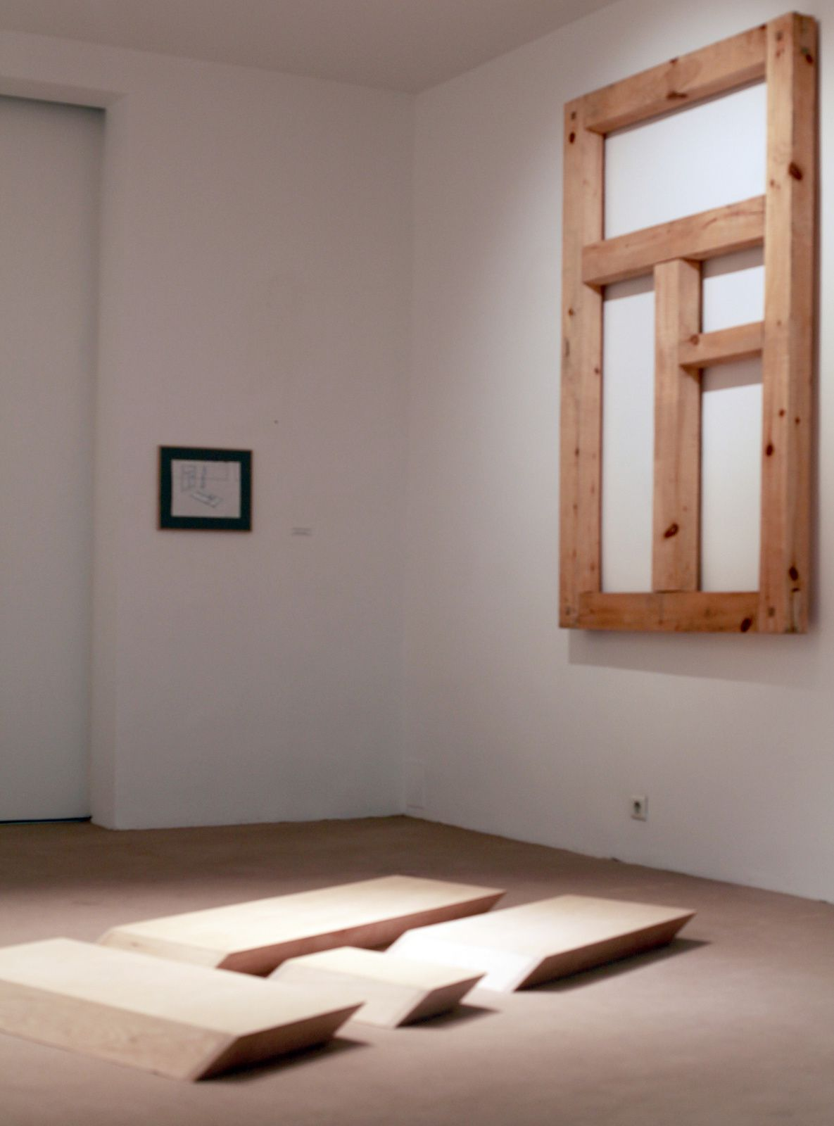 """""""Lumière venant de la fenêtre"""", 2014 de Leonid Sokov - Courtesy Galerie Vallois © Photo Éric Simon"""