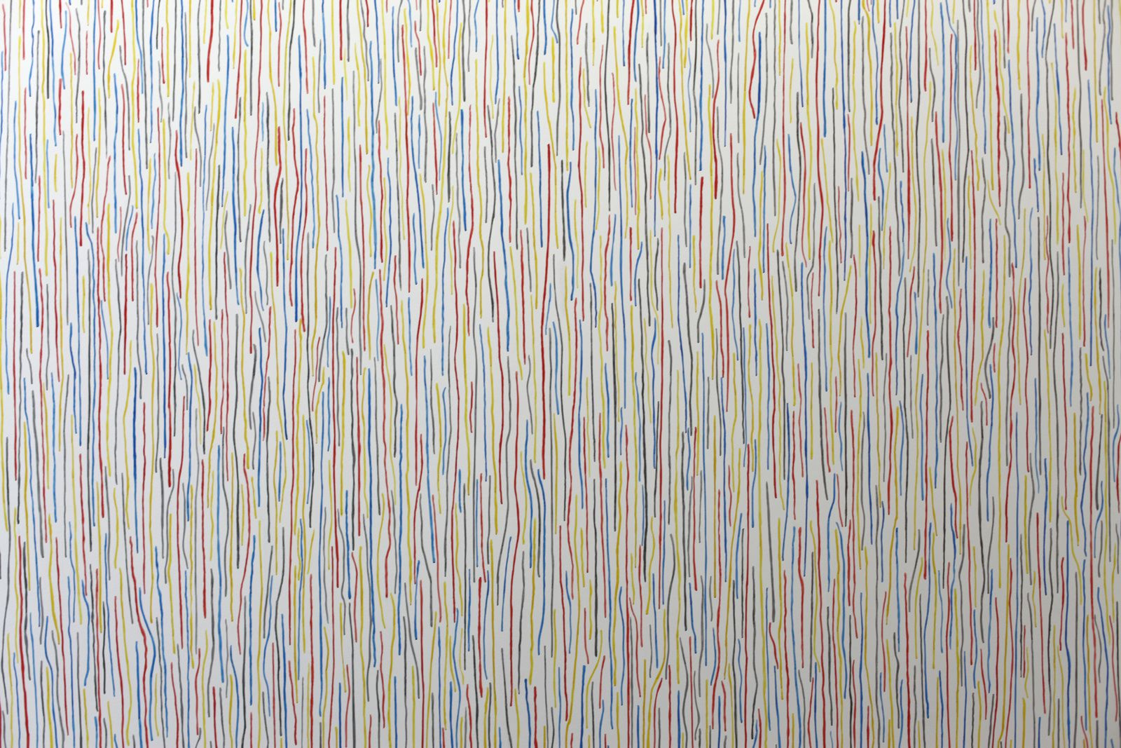"""Wall Drawing #768"", 1994 de Sol LeWitt - Courtesy Galerie Kamel Mennour © Photo Éric Simon"