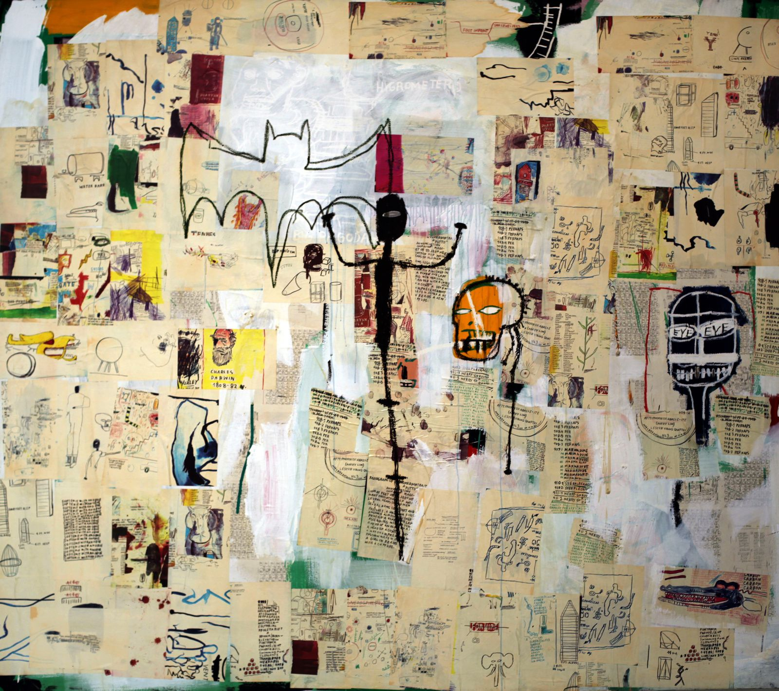 """Untitled"", 1987 de Jean Michel Basquiat  © Photo Éric Simon"