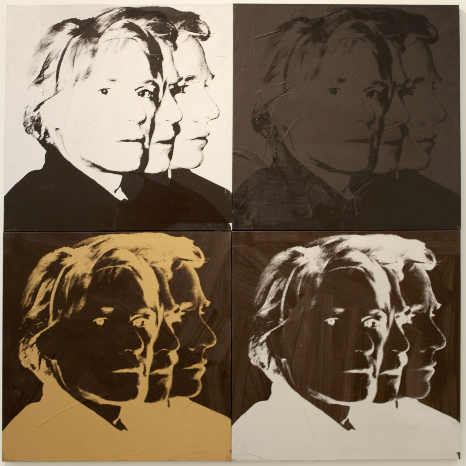 """Self Portrait"", 1978 d'Andy Warhol © Photo Éric Simon"