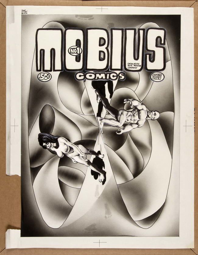 """Mobius comic - issue 1"" de Richard Corben"