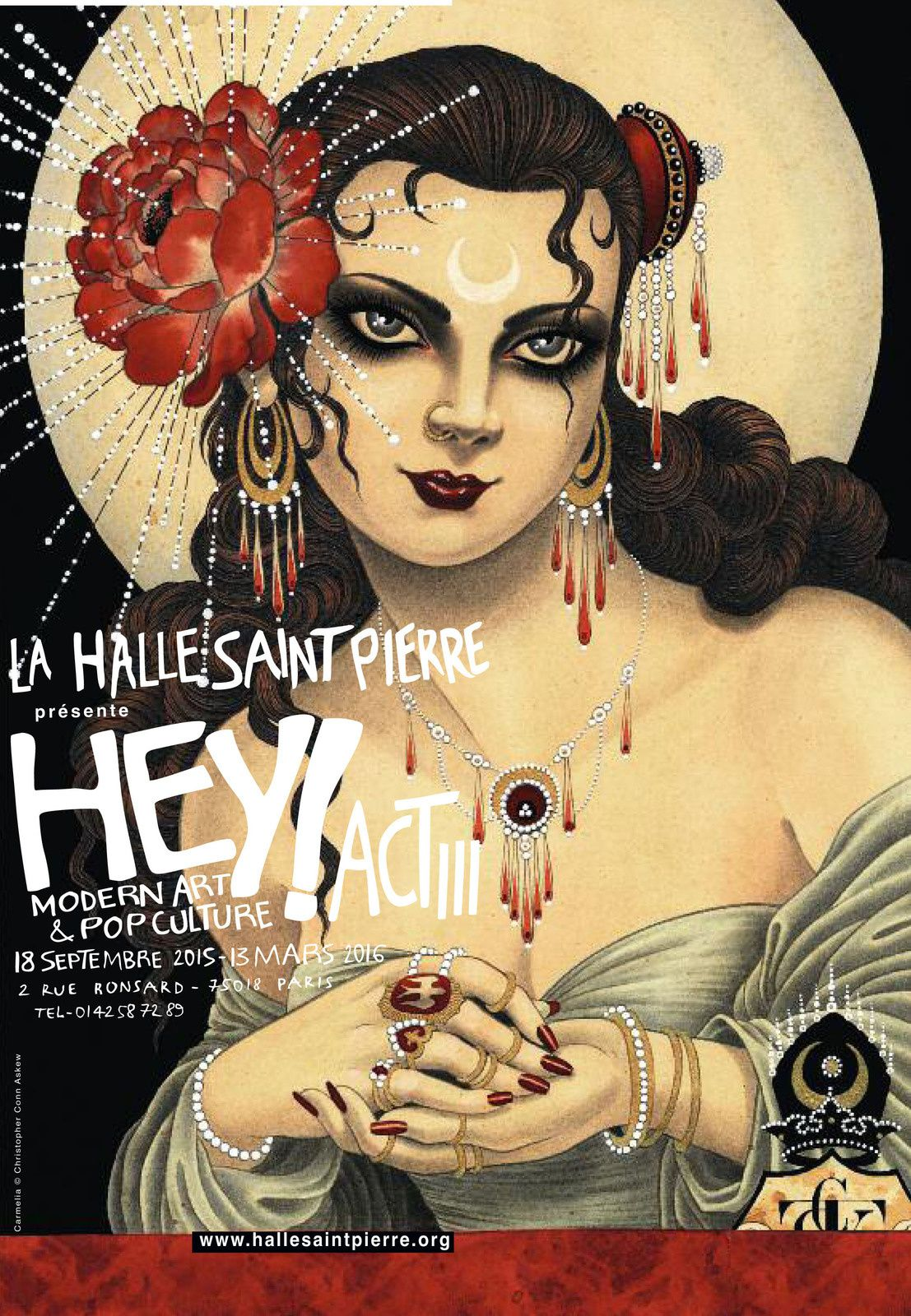 Expo Collective Contemporaine: HEY! Modern Art &amp&#x3B; pop Culture / Act III