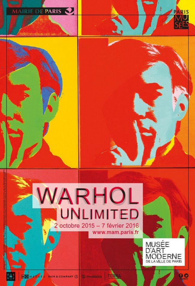 """Expo Artiste du XX ème Siècle: WARHOL  """"Unlimited"""""""