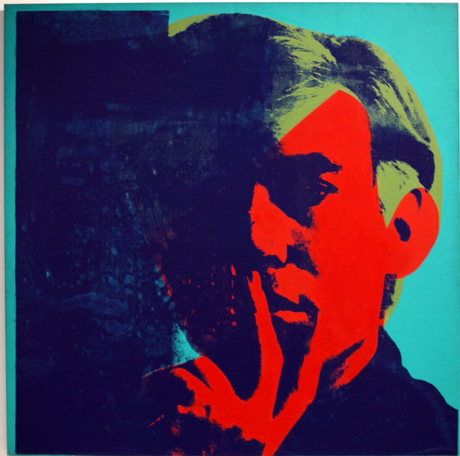 """Self portrait"", 1967 d'Andy Warhol © Photo Éric Simon"