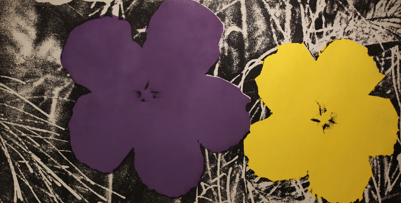 """Flowers"", 1964 d'Andy Warhol © Photo Éric Simon"