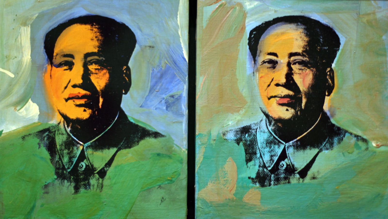"""Mao"", 1973  d'Andy Warhol © Photo Éric Simon"