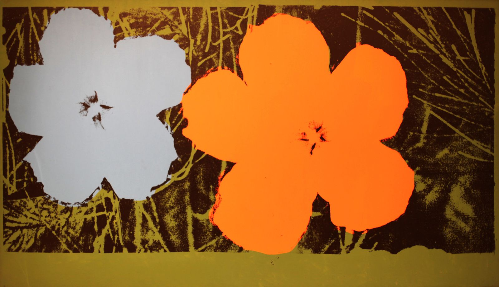"""Flowers (Large flowers)"", 1964 d'Andy Warhol © Photo Éric Simon"