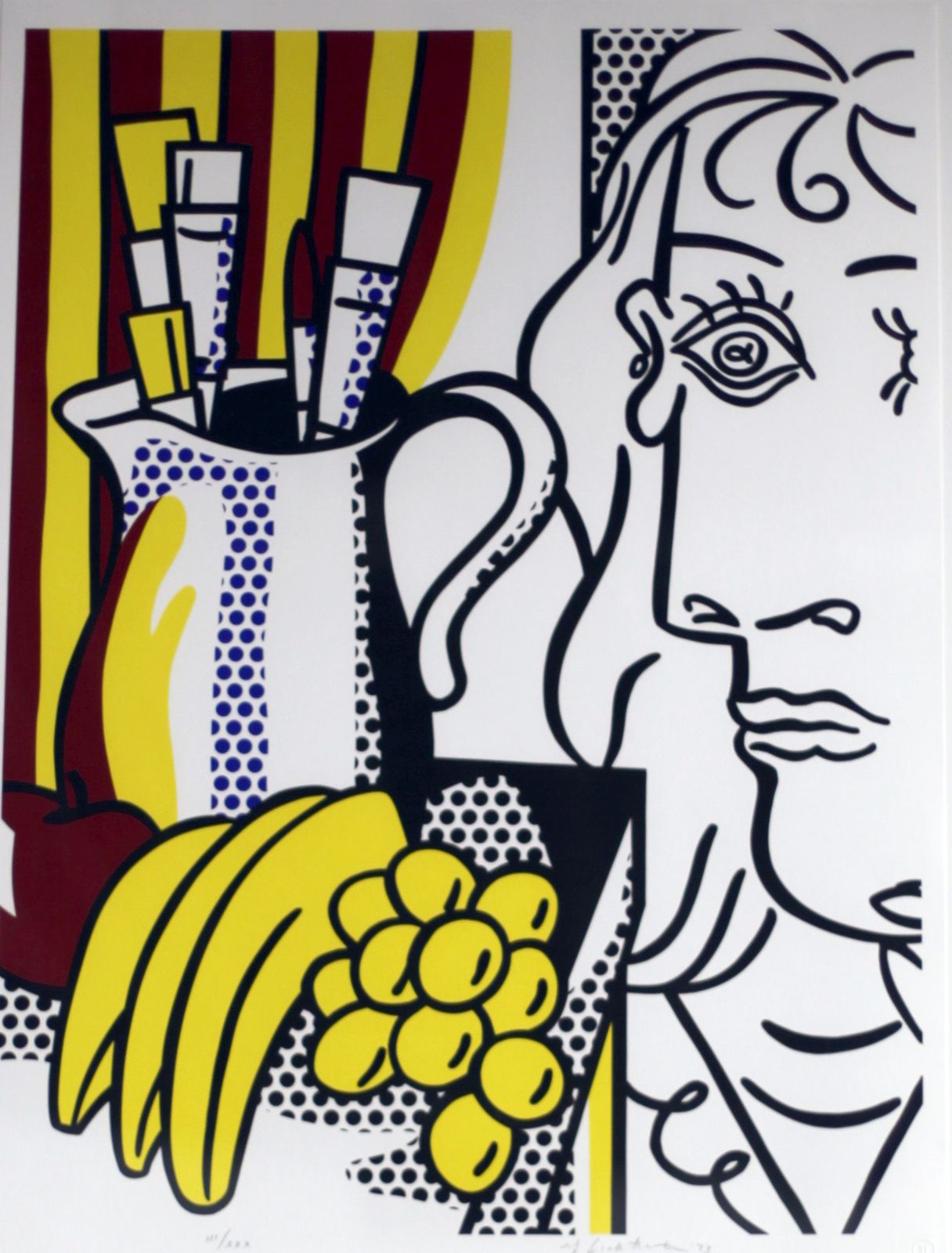 """Still life with Picasso"", 1973 de Roy Lichtenstein"