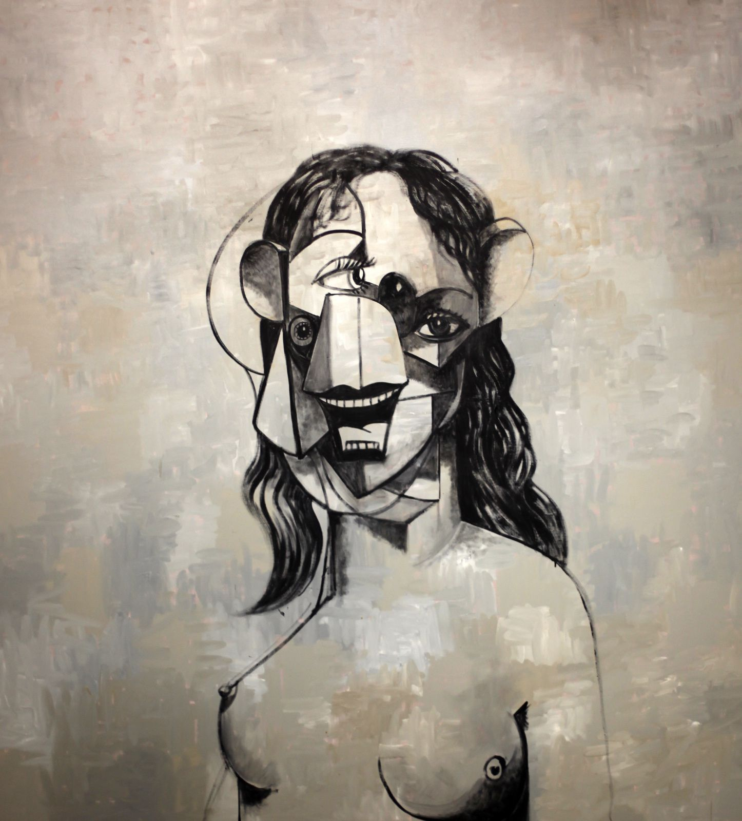 """Painting Drawing"", 2011 de George Condo © Photo Éric Simon"