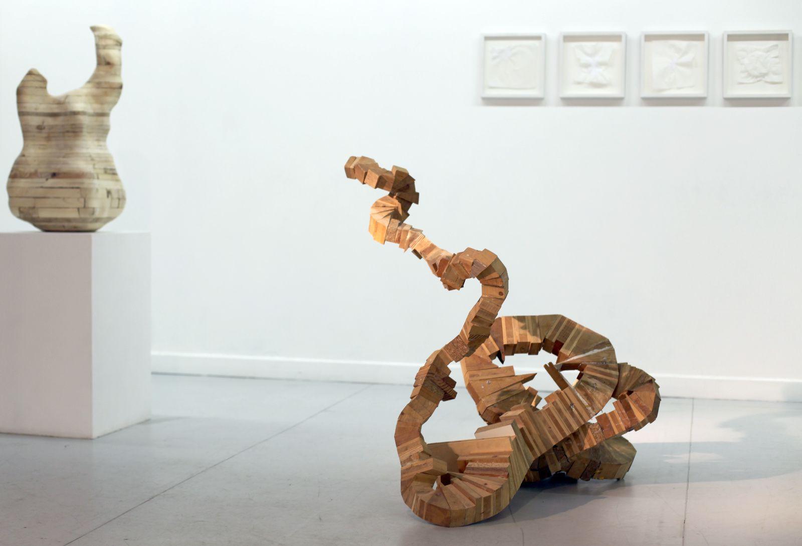 """""""Sans titre"""", 2008 de Tatiana WOLSKA. Claudine Papillon Galerie © Photo Éric Simon"""