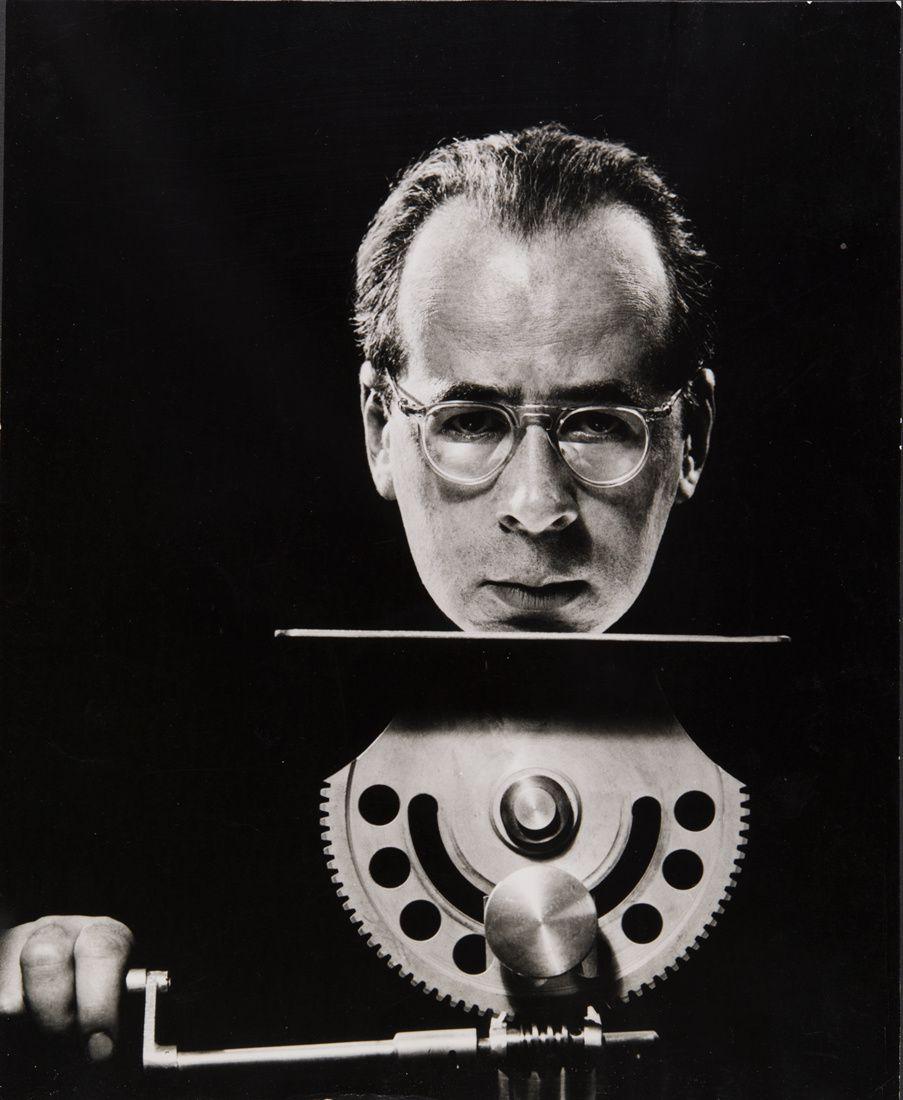 """""""Autoportrait"""", 1950 de Philippe Halsman"""