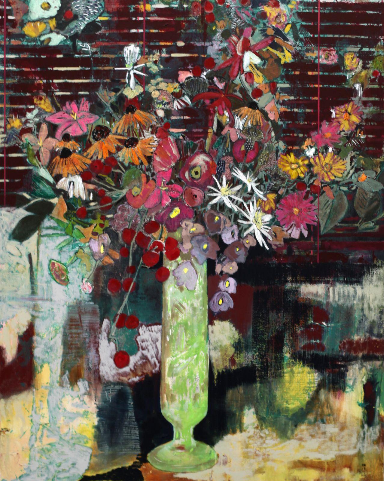 """Semi-private Bouquet"", 2015 d'Hernan BAS - Courtesy Galerie Perrotin © Photo Éric Simon"