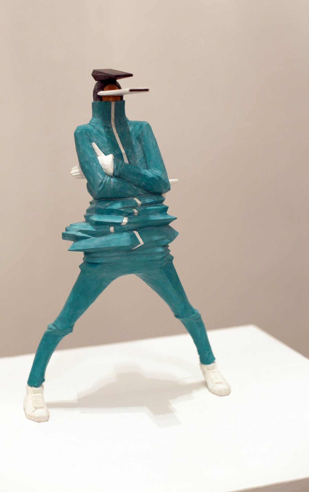 Sculpture de Taku Obata , 2015 - Courtesy Galerie Openspace © Photo Éric Simon