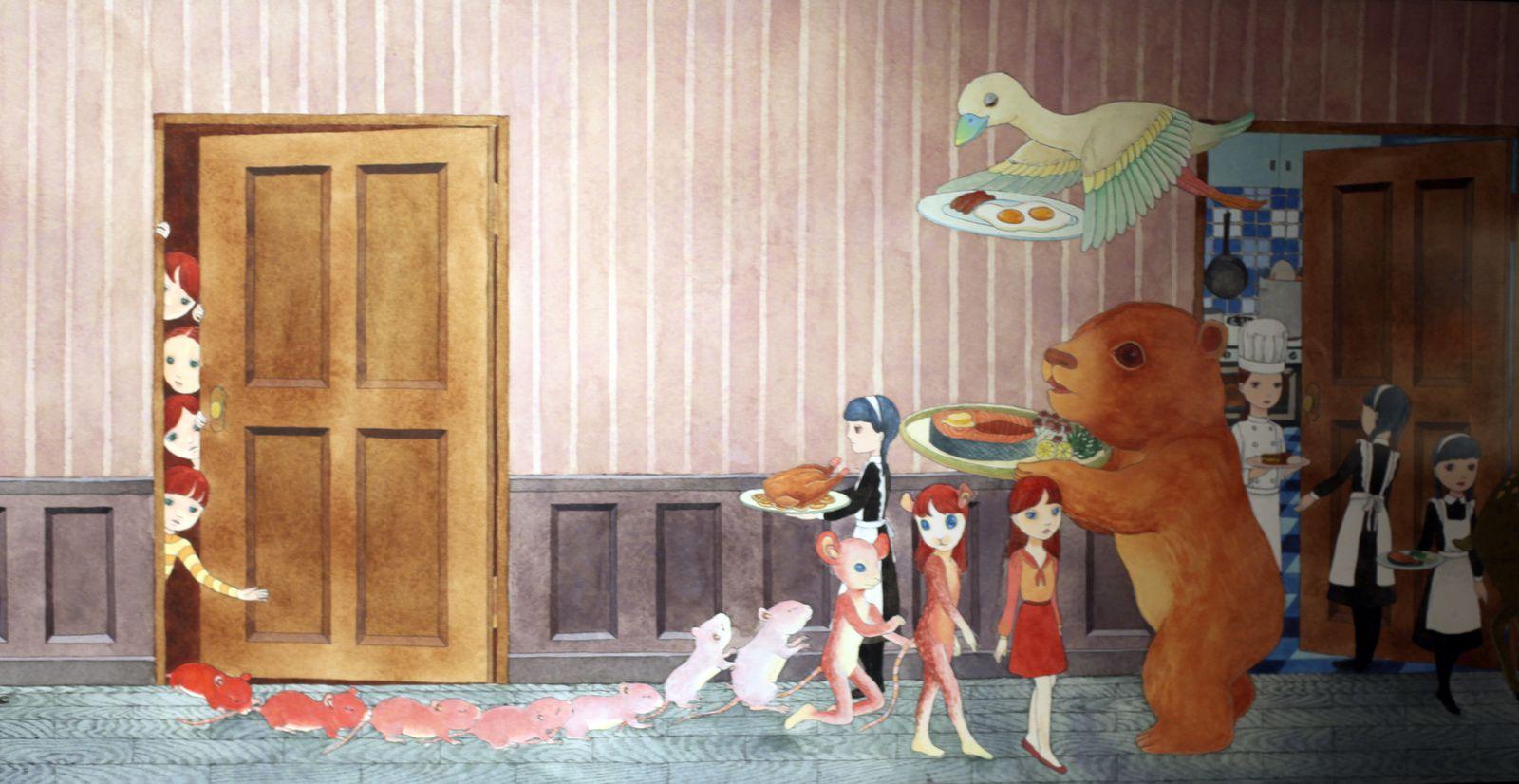 """""""Le couloir"""", 2012 de Sachiko Kanaizumi  - Courtesy Arts Factory © Photo Éric Simon"""