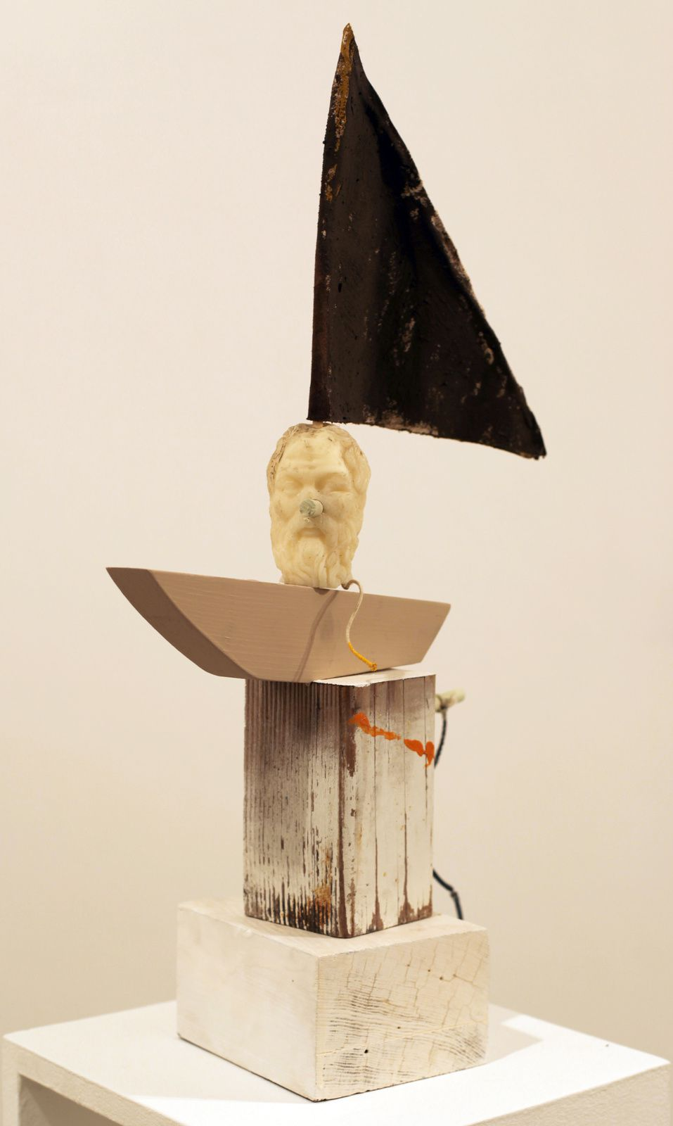 """Homer Head"", 2015 de Adam Janes - Courtesy Galerie G-P & N Vallois © Photo Éric Simon"