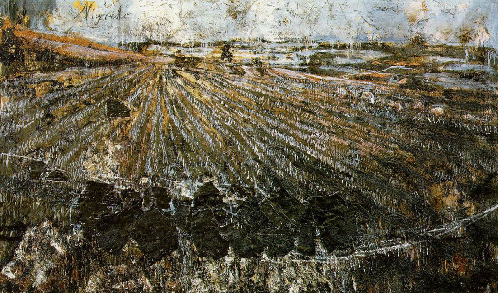 """Negredo"" de Anselm Kiefer"