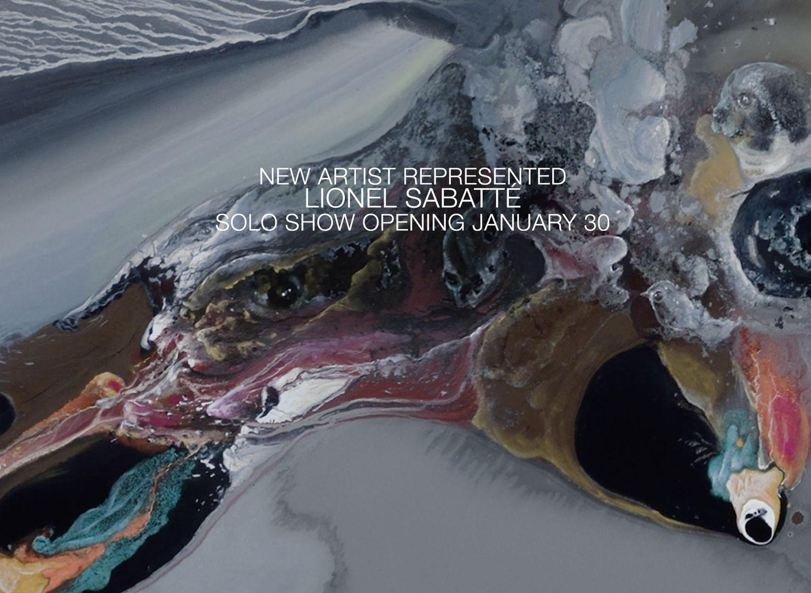 Expo Peinture Contemporaine Lionel Sabatte Marellomorpha
