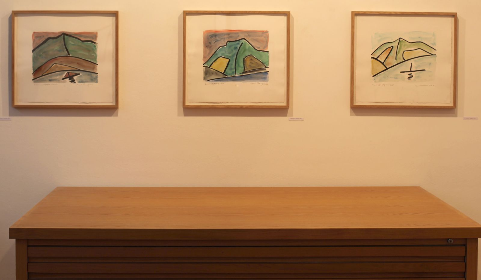 Etel Adnan - Courtesy Galerie Lelong © Photo Éric Simon
