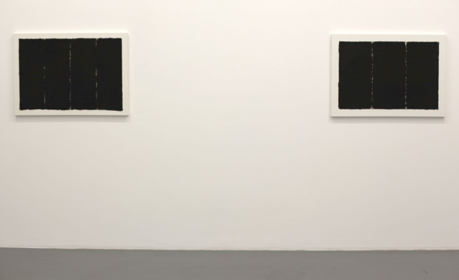 """Conditional Planes 8304 et 8220"", 1982 de Choi Myoung-Young - Courtesy Galerie Perrotin Paris  © Photo Éric Simon"