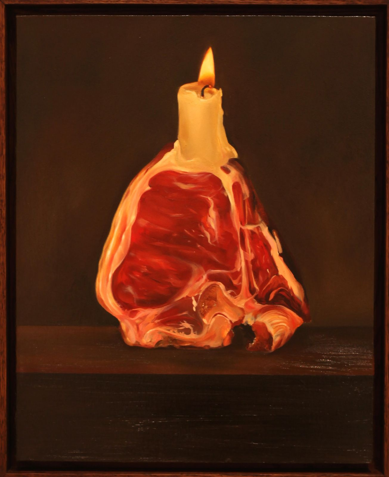 """Candle"", 2015 d'Oda Jaune - Courtesy Galerie Templon © Photo Éric Simon"