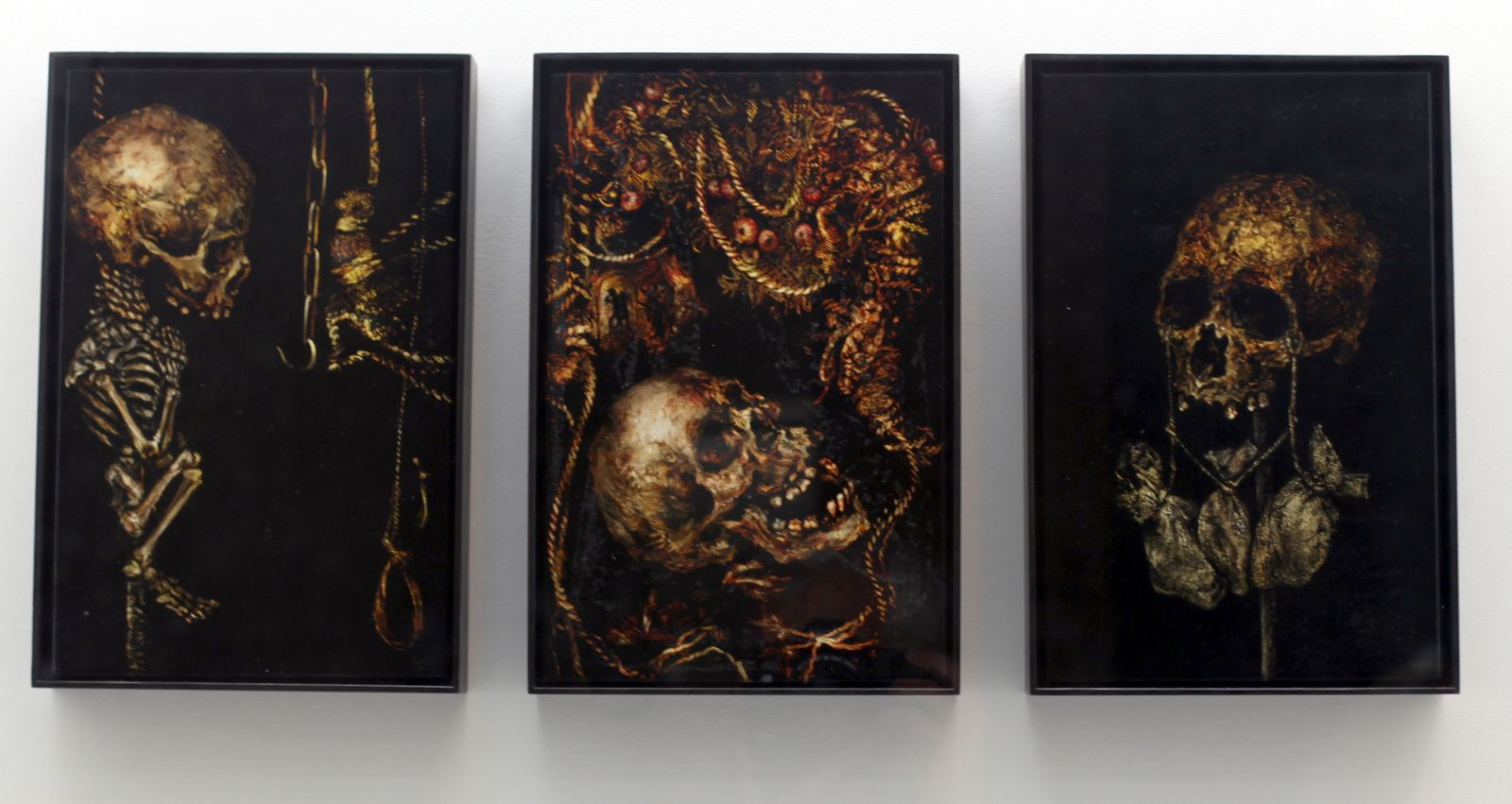 """The Seven Deadly Sins"", 2014-2015 de Terry Taylor - Courtesy Galerie Suzanne Tarasiève © Photo Éric Simon"