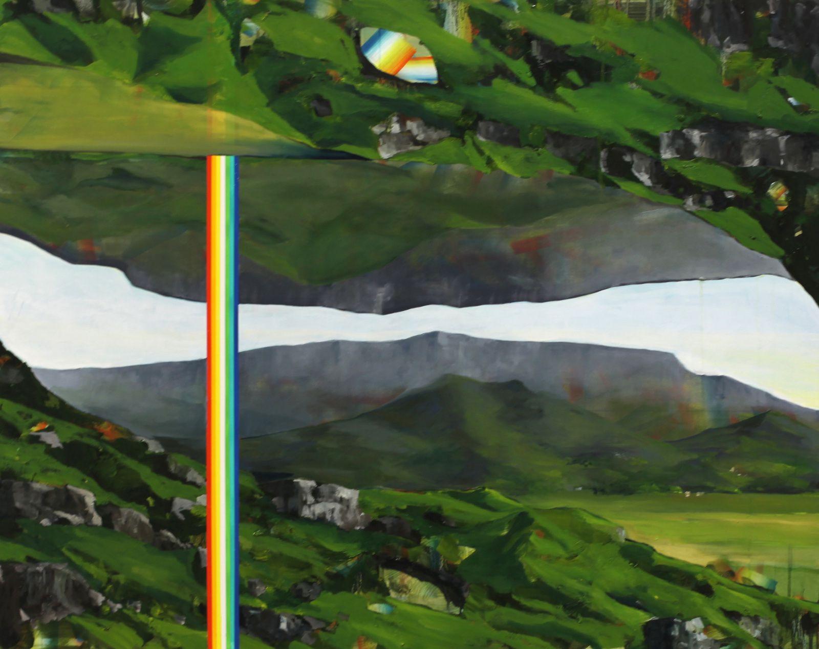 """""""Montagne III"""", 2015 de David Lefebvre - Courtesy Galerie Zürcher © Photo Éric Simon"""