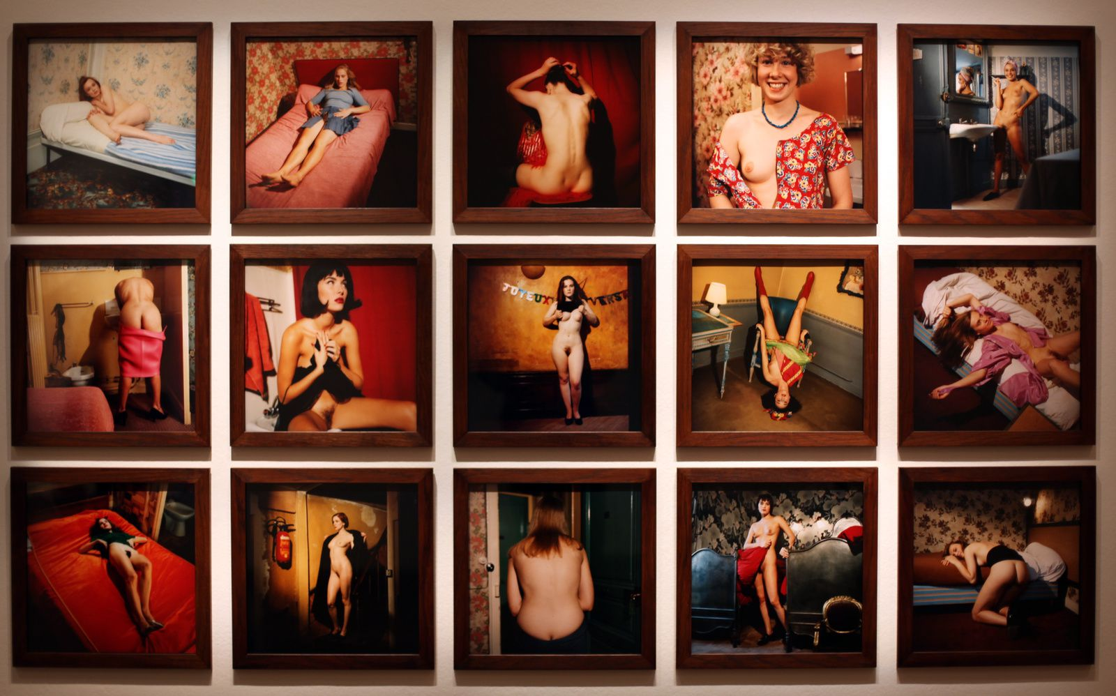 "Série ""Chambre close"", 1991 de Bettina Rheims - Courtesy MEP © Photo Éric Simon"