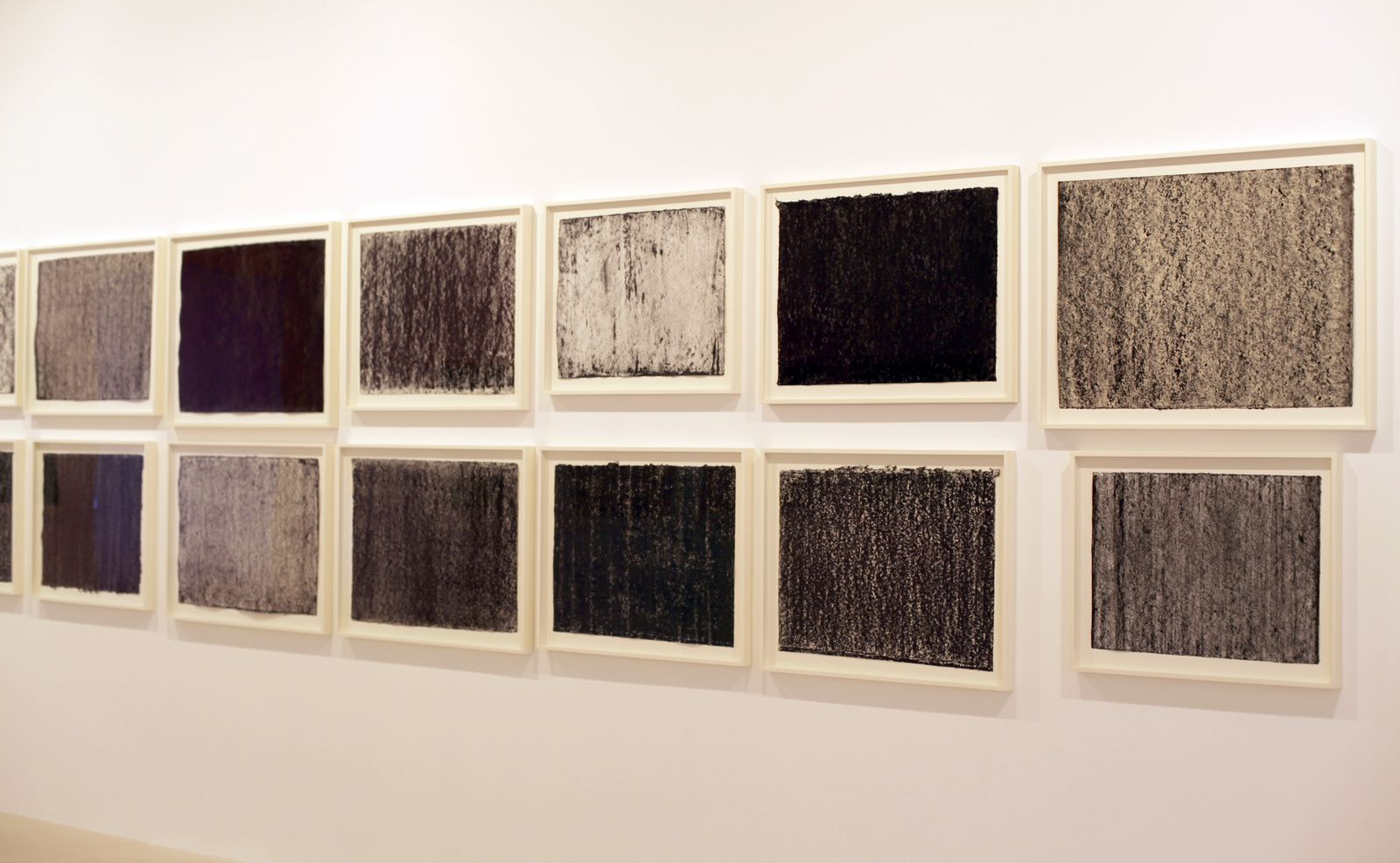 """Ramble Drawings"", 2015 de Richard Serra - Courtesy Gargosian Gallery Paris © Photo Éric Simon"