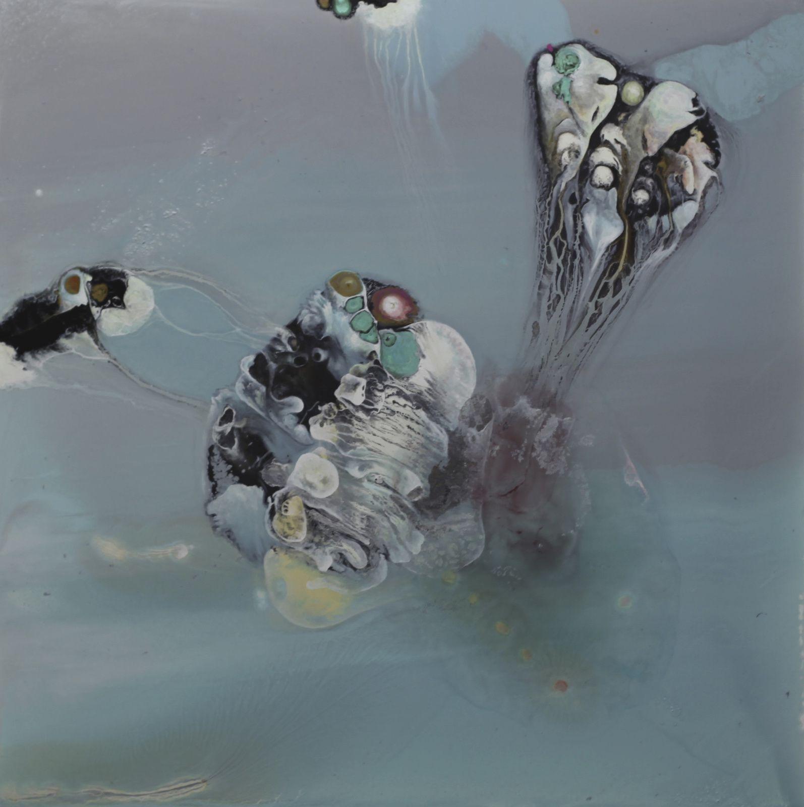 """""""Infusion d'un méprise"""", 2015 de Lionel Sabaté - Courtesy Galerie Eva Hober © Photo Éric Simon"""